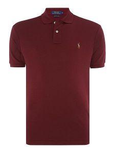 Plain Ralph Lauren Polo Shirt Ash
