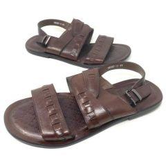 Hermes Leather Slide Slippers Black