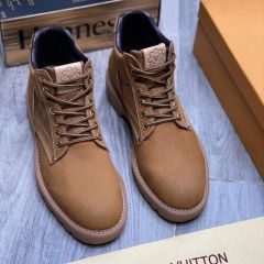 """Louis Vuitton Smooth Classic Ankle Boot """"Brown"""""""