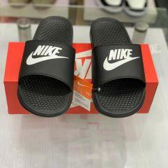 "Nike Mens Benassi JDI Slide Sandal Black ""Nike"""