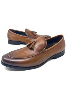 Robert Wood Men Loafers Brown