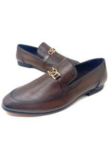 Louis Vuitton Horsebit Loafers Brown