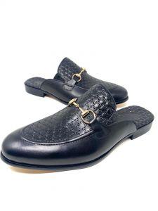 Salvatore Ferragamo Half Shoe Black