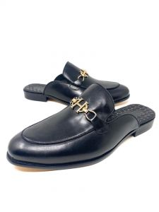 Hermes Half Shoe Black