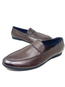 Baldini Loafers Shoe Coffee Brown