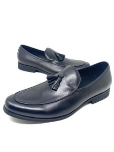 Robert Wood Men Loafers Black