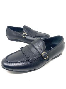 Baldini Designed Loafers Coffee Black