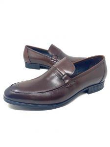 Baldini Plain Loafers Brown