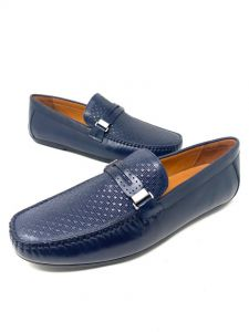 Louis Vuitton Loafers Navy Blue