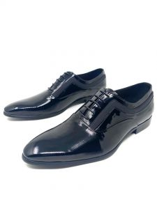 Baldini Plain Loafers Black