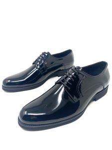 Baldini Plain Loafers Black