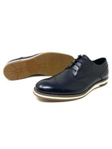 Angelo Ruffo Wet-Look Classic Men Loafers