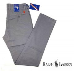 Ralph Lauren Straight Cut Chinos Trouser Grey