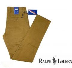 Ralph Lauren Straight Cut Chinos Trouser Light Brown
