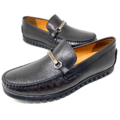 Men's Rossi Double Strap Loafers Brown