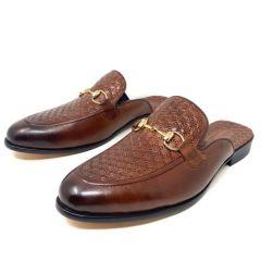 Salvatore Ferragamo Half Shoe Brown