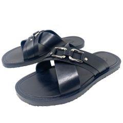 Rossi Scissors Slippers Black