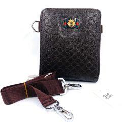 Men's Clutch Hand Bag Brown