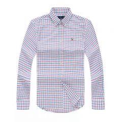 Polo Ralph Lauren Checkered Long Sleeve Shirt 007