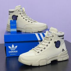 Adidas High Top Ankle Boot Cream
