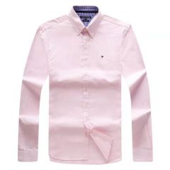 Tommy Hilfiger Plain Long Sleeve Shirt White