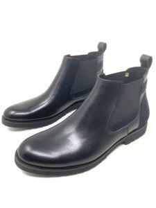 Gucci Plain Ankle Boot Black
