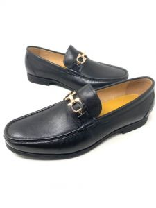Angelo Ruffo Wet-Look Classic Men Loafers