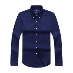 Polo Ralph Lauren Plain Long Sleeve Shirt White