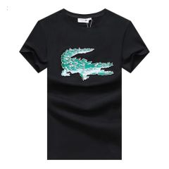 Lacoste Big Crest T Shirt Black