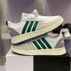"""Adidas Court80s """"White Stripe Green"""""""