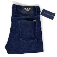 "Emporio Armani Straight Cut Jeans ""Deep Blue"""
