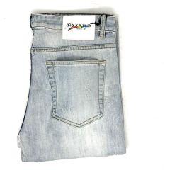 Balenciaga Straight Cut Jeans Blue