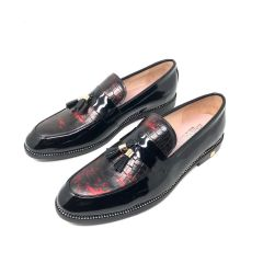 """Louis Vuitton Classic Loafers """"Leather/Wet-Look"""""""