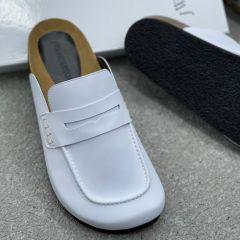JW Anderson Half Shoe White