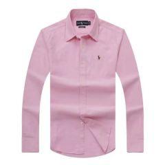 Polo Ralph Lauren Plain Long Sleeve Shirt Pink