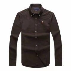 Polo Ralph Lauren Plain Long Sleeve Shirt Sky Blue