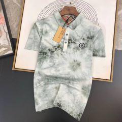 New Burberry Design Polo Shirt Green
