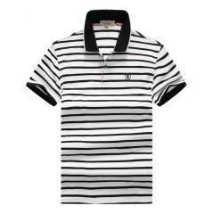 Burberry Stripe Polo White