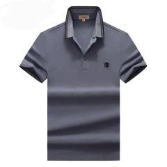 "Burberry Plain Polo Shirt ""Navy Blue"""