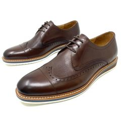 Robert Wood Double Strap Loafers Brown