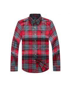 Polo Ralph Lauren Checkered Long Sleeve Shirt 0015