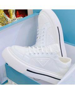 Prada Milano Low Top Sneakers White