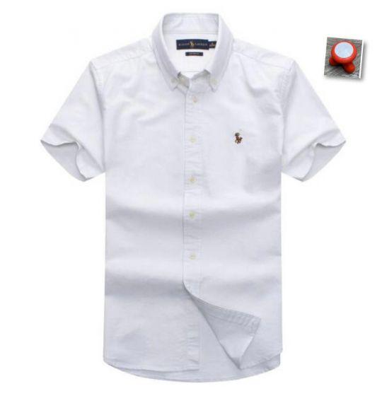 Polo Ralph Lauren Plain Short Sleeve Shirt White