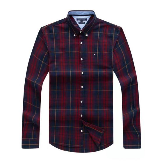 Tommy Hilfiger Checkered Shirt 006