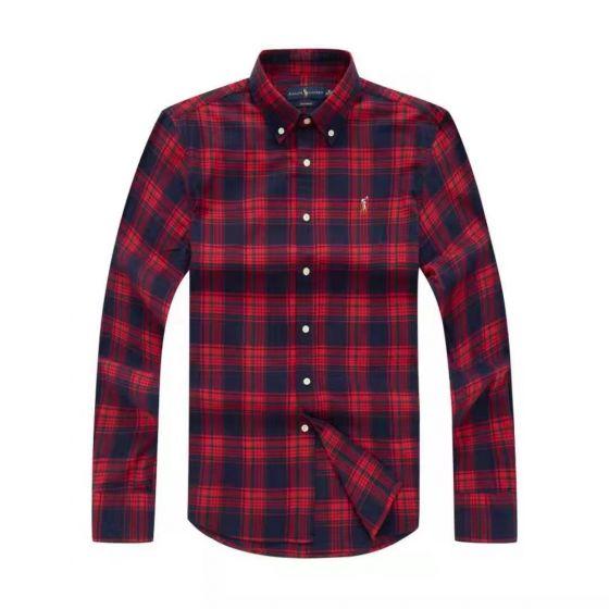 Polo Ralph Lauren Checkered Long Sleeve Shirt 0011