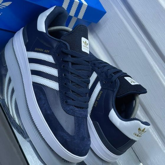 Adidas Samba ADV OG Blue White