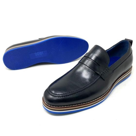 Oggi Leather Loafers Black